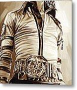 Michael Jackson Artwork 2 Metal Print by Sheraz A