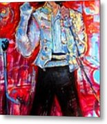 Michael Jackson I'll Be There Metal Print