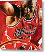 Michael Jordan Artwork 3 Metal Print by Sheraz A