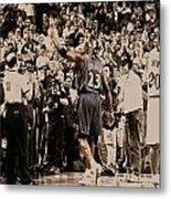 Michael Jordan Last Game II Metal Print