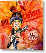 Michael Schenker In Dublin Metal Print