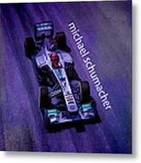 Michael Schumacher Metal Print