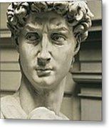 Michelangelo 1475-1564. David Metal Print
