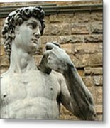 Michelangelo's David 1 Metal Print