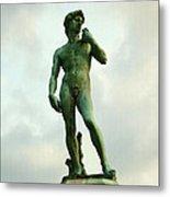 Michelangelo's David 2 Metal Print