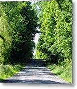 Michigan Country Roads 43 Metal Print