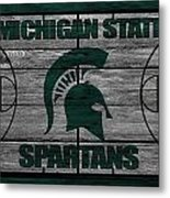 Michigan State Spartans Metal Print
