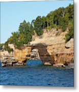 Michigan, Upper Peninsula, Pictured Metal Print
