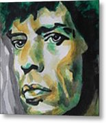 Mick Jagger Metal Print by Chrisann Ellis