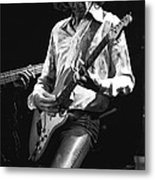 Mick In Flight 1977 Metal Print