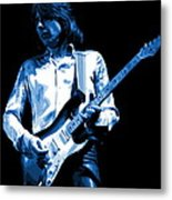 Mick Plays The Blues 1977 Metal Print
