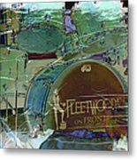 Mick's Drums Metal Print