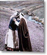 Middle East Bedouins Metal Print