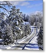 Middle Road Franklin Metal Print