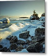 Middlebrun Bay Sunset II Metal Print