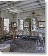 Middleton Place Rice Mill Interior Metal Print