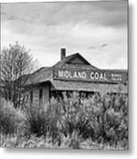 Midland Coal Mining Co. Metal Print