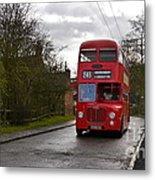 Midland Red Bus Metal Print