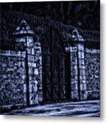 Midnight At The Prison Gates Metal Print