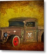 Midnight Auto Parts Metal Print