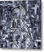 Midnight Blue Metal Print