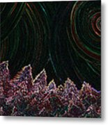 Midnight Forest By Jrr Metal Print