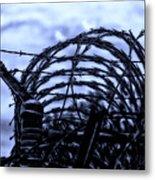 Midnight In The Prison Yard Metal Print