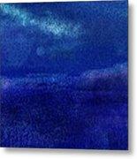 Midnight Sea Passage Metal Print
