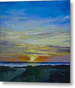 Midnight Sun Metal Print by Michael Creese
