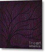 Midnight Tree Metal Print