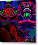 Midnight Velvet Metal Print