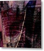 Midnights Grapes  Metal Print