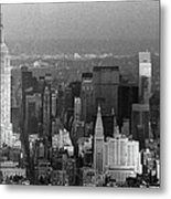 Midtown Manhattan 1980s Metal Print