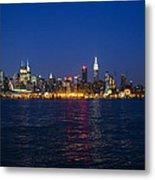 Midtown Manhattan Skyline View Metal Print