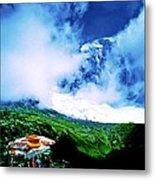 Le Milieu De Mont Blanc   Metal Print