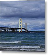 Mighty Mack Bridge Metal Print