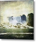 Mighty Niagara Metal Print