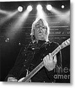 Mike Peters The Alarm By Diana Sainz Metal Print