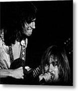 Mike Somerville And John Schlitt Of Head East Metal Print