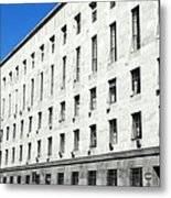 Milan Courthouse Building Metal Print