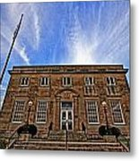 Milan Post Office Metal Print