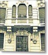 Milan Vintage Building Metal Print