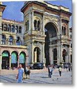 Milano Dome Square 1 Metal Print