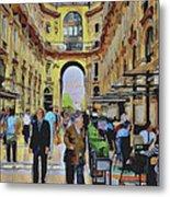 Milano Shopping Center 3 Metal Print