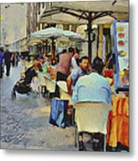 Milano Shopping Center 4 Metal Print
