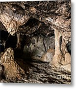 Milatos Cave Metal Print