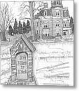 Mile Marker And Victorian Metal Print