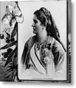 Milena Vukotic (1847-1923) Metal Print