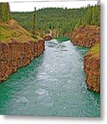 Miles Canyon In Whitehorse-yt Metal Print