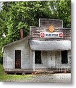 Miles Country Store Metal Print by Benanne Stiens